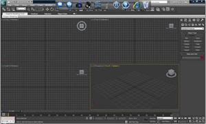 Capture d'ecran du logiciel Autodesk 3ds Max 2020.1 fr