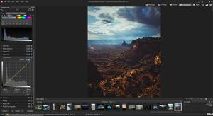 Capture d'ecran du logiciel ACDSee Photo Studio Professional 2019 fr