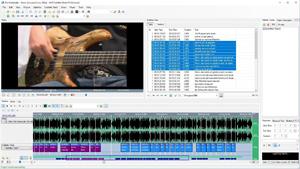 Capture d'ecran du logiciel AHD Subtitles Maker Professional 5.22.555