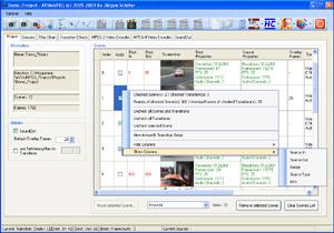 Capture d'écran du logiciel AVStoMPEG 13.2009.0622.0500
