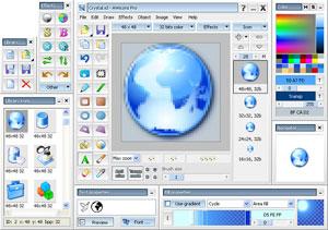 Capture d'écran du logiciel AWicons Lite 10.2 fr