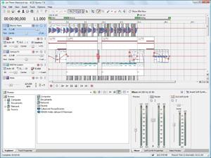 Capture d'ecran du logiciel Acid Xpress 7.0a Build 73