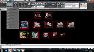 Capture d'ecran du logiciel ActCAD Professional 2020 9.1.434.0 fr