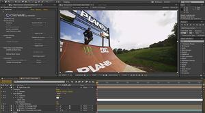 Capture d'ecran du logiciel Adobe After Effects CC 2020 17.5.1.47 fr