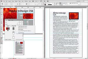 Capture d'ecran du logiciel Adobe InDesign CC 2021 16.0.2 fr
