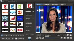 Capture d'écran du logiciel adsl TV Portable 2017.1 fr