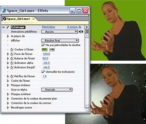 Capture d'ecran du logiciel Adobe After Effects 6.5.1 fr - Patch