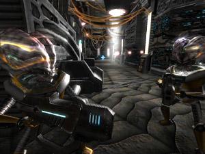 Capture d'écran du logiciel Alien Arena Mercury Edition 7.66