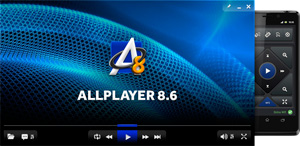 Capture d'ecran du logiciel ALLPlayer 8.8.2 fr