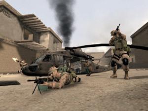 Capture d'écran du logiciel America's Army 2.8.5 - Linux