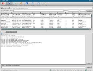 Capture d'écran du logiciel aMule 2.3.1 fr - MacOS