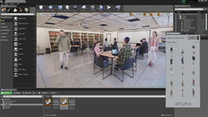 Capture d'ecran du logiciel Anima Lite 3.5.1