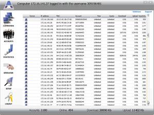 Capture d'ecran du logiciel Antamedia HotSpot Software 6.0.6 fr