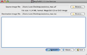 Capture d'écran du logiciel AnyToISO Converter 3.8.2 fr - ...