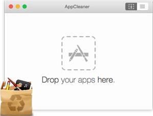 Capture d'ecran du logiciel AppCleaner 3.5 fr