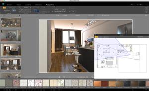 Capture d'écran du logiciel Artlantis Studio 7.0.2.2 fr