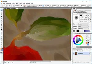 Capture d'écran du logiciel Artweaver Free 6.0.8 fr