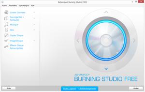 Capture d'ecran du logiciel Ashampoo Burning Studio Free 1.21.3.4 fr