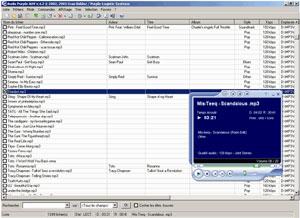 Capture d'écran du logiciel Audio Purple Advance 4.2 fr