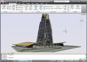 Capture d'écran du logiciel Autodesk Autocad 2018 fr - MacOS