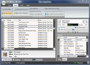 Capture d'écran du logiciel BBox Player 3.0.4.1000