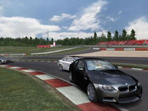 Capture d'écran du logiciel BMW M3 Challenge 1.0