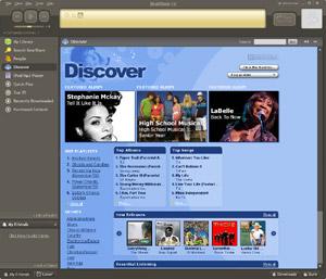 Capture d'écran du logiciel BearShare 12.0.0.134249 fr