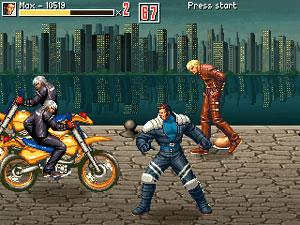 Capture d'écran du logiciel Beats of Rage DC 1.0028