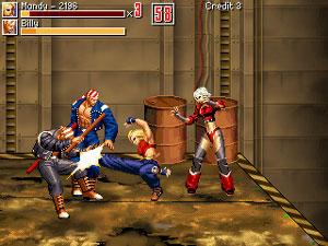 Capture d'écran du logiciel Beats of Rage PS2 1.0028