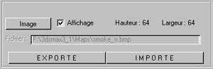 Capture d'écran du logiciel Bitmap Convertor 1.3 fr