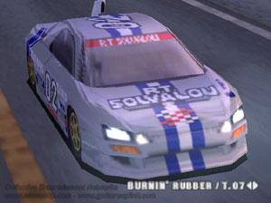 Capture d'écran du logiciel BleemCast Ridge Racer