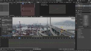 Capture d'ecran du logiciel Blender 2.83.1 - Windows