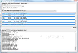 Capture d'écran du logiciel BluRip 0.5.2 fr
