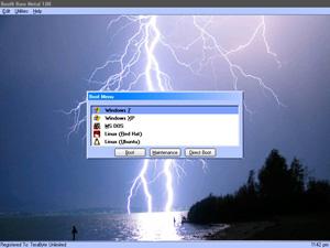 Capture d'ecran du logiciel BootIt Collection 1.13-1.61