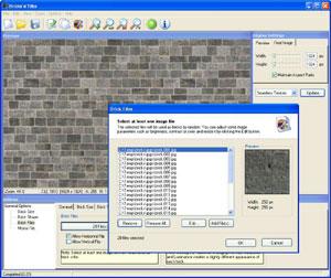 Capture d'ecran du logiciel Bricks'n'Tiles 1.5.3