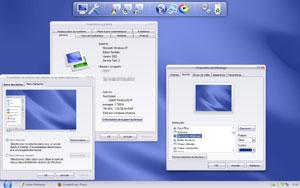 Capture d'ecran du logiciel BricoPack Crystal Clear 1.0 fr