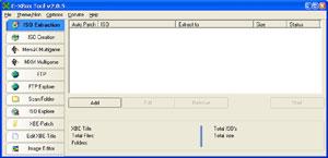 Capture d'ecran du logiciel C-XBox Tool 2.0.7 fr
