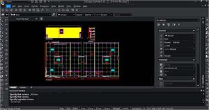 Capture d'ecran du logiciel CADopia Professional Edition 18.3.1 fr
