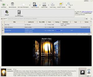 Capture d'écran du logiciel Calibre 3.12 fr - Mac