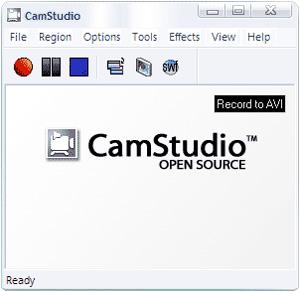 Capture d'ecran du logiciel CamStudio Portable 2.7.2 r326