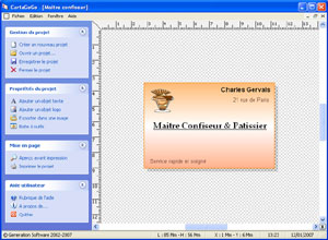 Capture d'ecran du logiciel EtiketaGoGo 3.3.2 fr