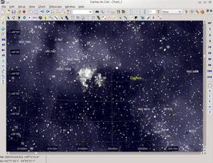 Capture d'ecran du logiciel Cartes du Ciel Portable 4.2.1.4073 fr