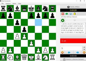 Capture d'ecran du logiciel Chess Tournaments 2.0
