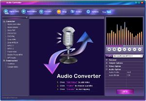 Capture d'écran du logiciel Clone2go Free Audio Converter ...