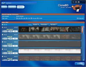 Capture d'écran du logiciel CloneBD 1.2.4.0 fr