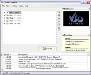 Capture d'ecran du logiciel ConvertXtoDVD 7.0.0.36 fr