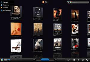 Capture d'écran du logiciel Coollector Movie Database Port...