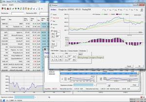 Capture d'écran du logiciel Cotes&Bourses 1.6.2 fr