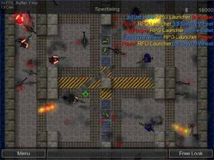 Capture d'ecran du logiciel Counter-Strike 2D Portable 1.0.1.0 fr