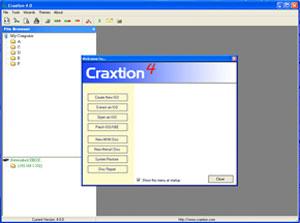 Capture d'écran du logiciel Craxtion 4.0.0